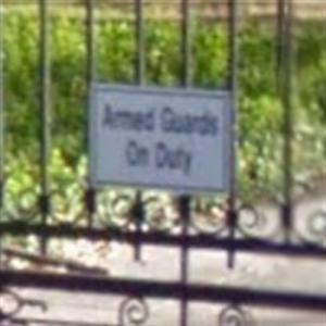 'Armed Guards On Duty' at Marc Cuban's House (StreetView)