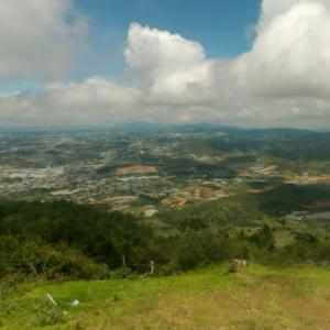 View from Đỉnh Langbiang (StreetView)