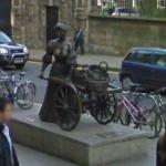 Molly Malone on Grafton Street (original location)