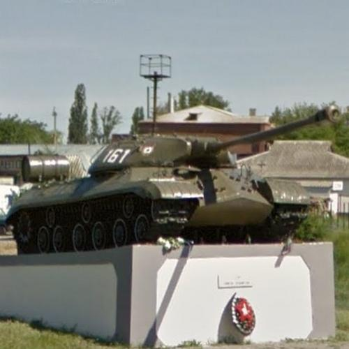 IS 3 tank (StreetView)