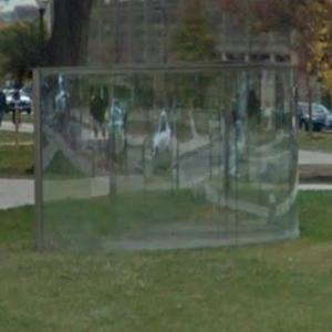 'Penultimate Curving Pavilion' by Dan Graham (StreetView)