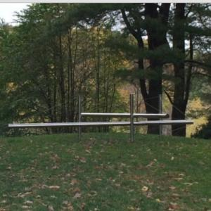 'Wiggins Fork' by Kenneth Snelson (StreetView)