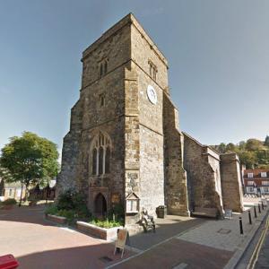 St Thomas à Becket Church (StreetView)
