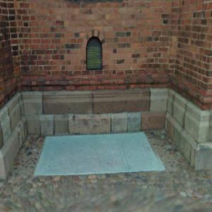 Unknown Grave at Roskilde Cathedral (StreetView)