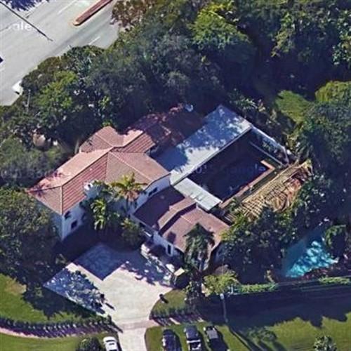 roman jones' house in miami, fl (google maps) - virtual