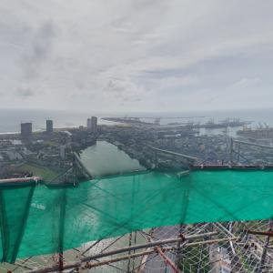 View from Colombo Lotus Tower (under construction) (StreetView)