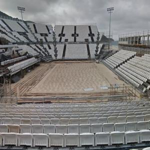 2016 Olympic Beach Volleyball Stadium (StreetView)
