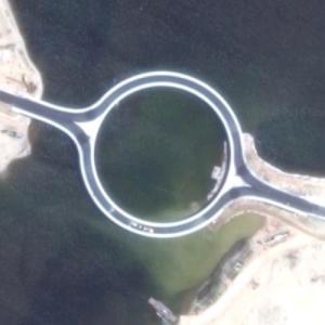 Laguna Garzon Bridge (Google Maps)