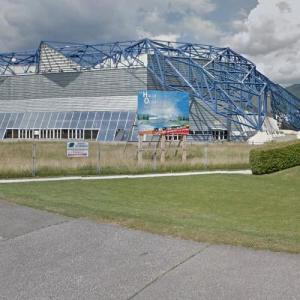 La halle de glace Olympique (StreetView)