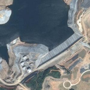 Dam Construction (Google Maps)