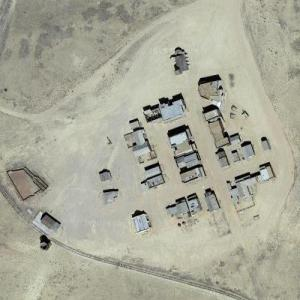 'Silverado' Wild West Movie Set on Tom Ford's Ranch (Google Maps)