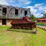Ruins of WW2 Tank