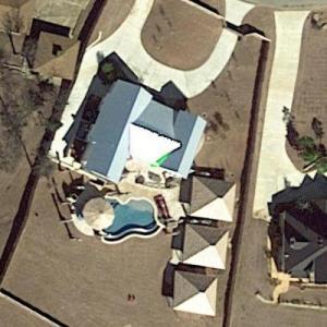 Blake Shelton lake house (Google Maps)