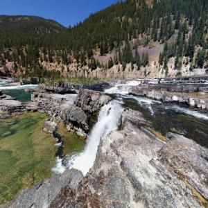 Kootenai Falls (StreetView)