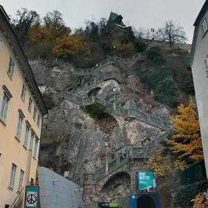 Staircase to Schloßberg (Graz) (StreetView)