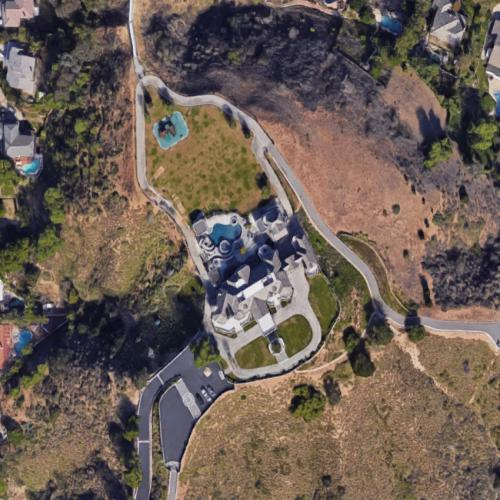 John Force house in Yorba Linda, California