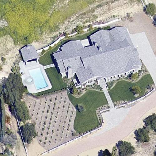 Kylie Jenner S House Former In Hidden Hills Ca Google Maps 4
