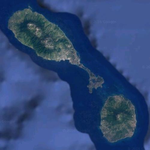 Saint Kitts and Nevis (Google Maps)