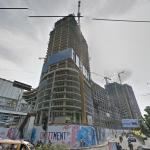 Podomoro City Deli Office Tower under construction