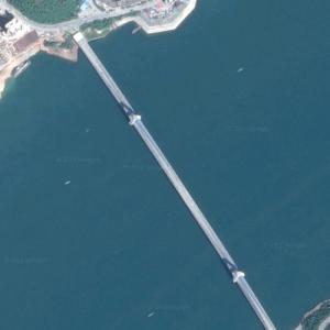 Fengjie Yangtze River Bridge (Google Maps)