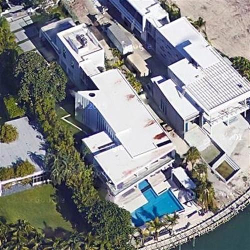 hassan whiteside's house in miami beach, fl (google maps)