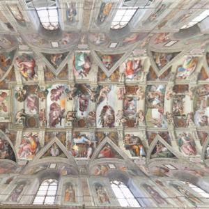 Inside Sistine Chapel (StreetView)