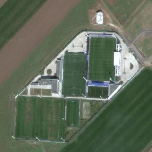 Gheorghe Hagi Football Academy in Ovidiu, Romania (Google Maps) on