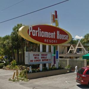 Parliament House Resort Sign (StreetView)