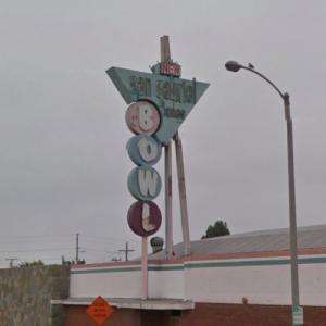 San Gabriel Bowl Sign (StreetView)