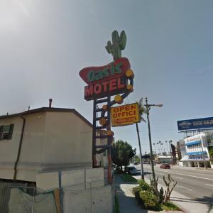 Oasis Motel Sign (StreetView)