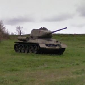 T-34 -Medium tank (StreetView)