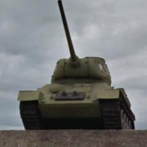 T-34/85 - Medium tank (StreetView)