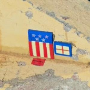 4th of July - Street art by Mows510 (StreetView)