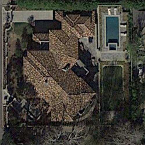 Viola Davis's House In Toluca Lake, CA (Google Maps