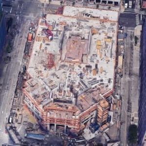 99 Hudson Street (tallest building in New Jersey) under construction (Google Maps)