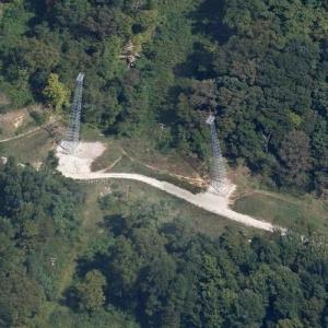 Southern Airways Flight 932 crash site (Google Maps)