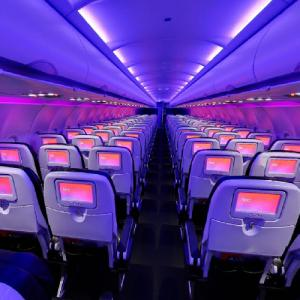 Virgin America Airbus A320 (StreetView)