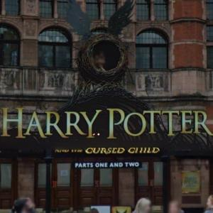 """""""Harry Potter and the Cursed Child"""" sign (StreetView)"""