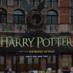 """Harry Potter and the Cursed Child"" sign"