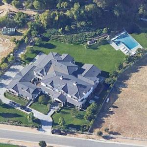 Kylie Jenner's House (Google Maps)