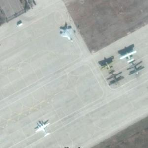 F-22 in China (Google Maps)