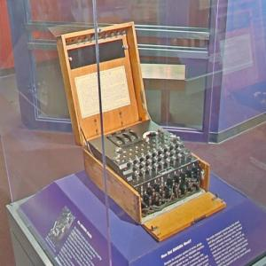 German Enigma machine (StreetView)