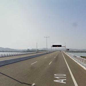 Lezíria Bridge (StreetView)