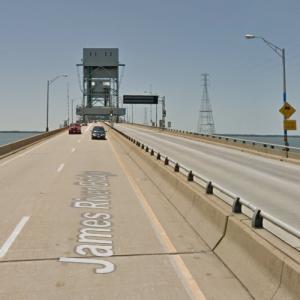 James River Bridge (StreetView)