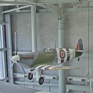 RAF Supermarine Spitfire (StreetView)