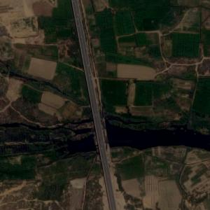 Malir River Bridge (Google Maps)