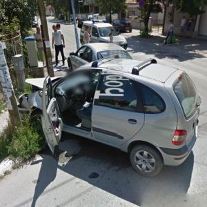 Car crash (StreetView)