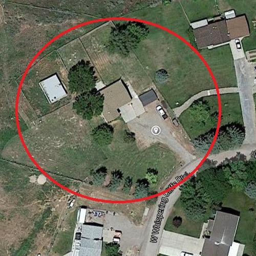 Cassie Jo Stoddart's murder place (2006) in Pocatello, ID (Google Maps)