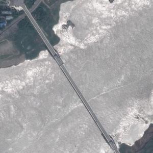 Second Wanzhou Yangtze River Bridge (Google Maps)