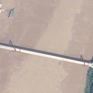 Zhongxian Yangtze River Bridge (Google Maps)